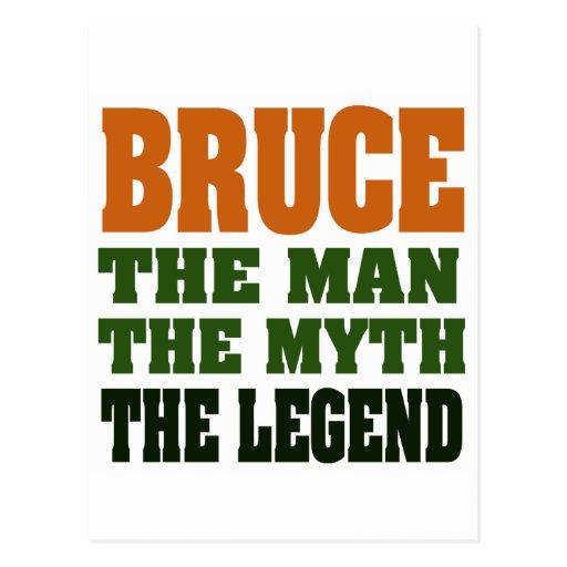 Bruce - el hombre, el mito, la leyenda postales