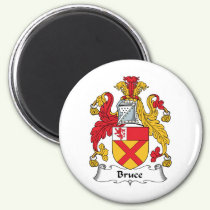Bruce Family Crest Magnet