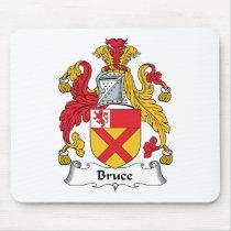 Bruce Family Crest Mousepad