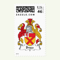 Bruce Family Crest Stamps