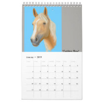 Bruce L. Carter Illustrations Calendar