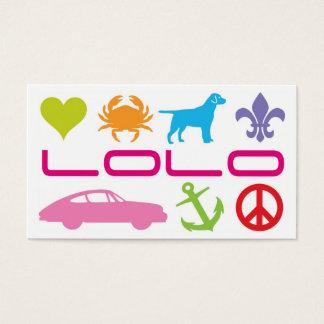 Bruce M. LoLo Biz Card