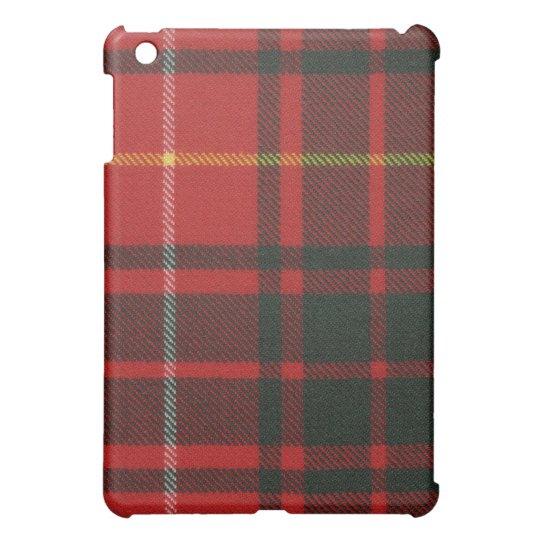 Bruce Modern Tartan iPad Case