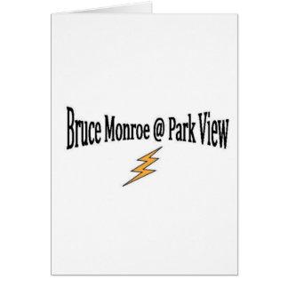 BRUCE MONROE @ PARKVIEW E.S. TARJETA DE FELICITACIÓN