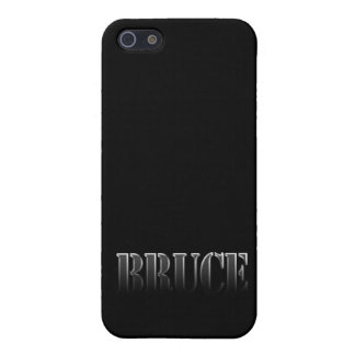 BRUCE Name Branded iPhone Case