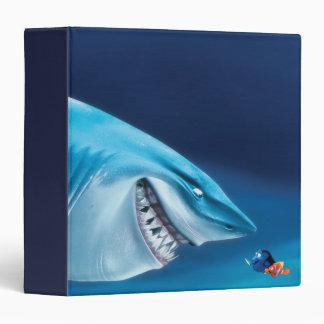 Bruce, Nemo and Dory 1 3 Ring Binder