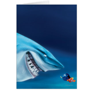 Bruce, Nemo and Dory 1 Greeting Card