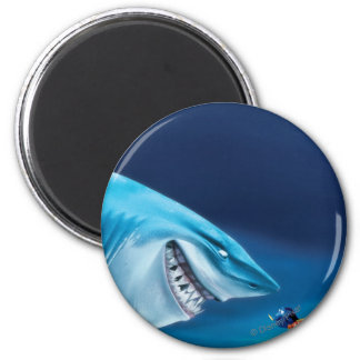 Bruce, Nemo and Dory 1 2 Inch Round Magnet
