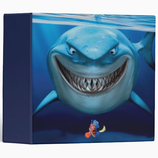 Bruce, Nemo and Dory 2 Binder