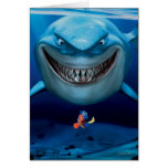 Bruce, Nemo and Dory 2 Greeting Card