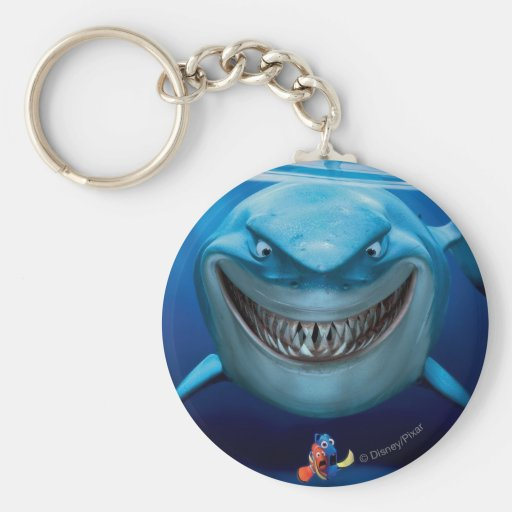 Bruce, Nemo and Dory 2 Keychain