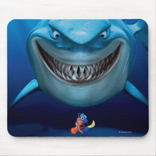 Bruce, Nemo and Dory 2 Mousepad