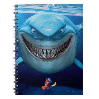 Bruce, Nemo and Dory 2 Notebooks