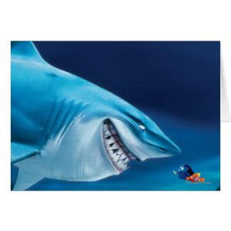 Bruce, Nemo y Dory 1 Tarjeta