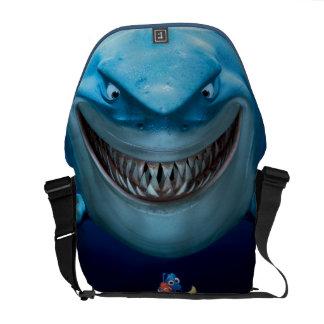 Bruce, Nemo y Dory 2 Bolsas Messenger