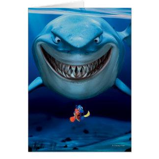 Bruce, Nemo y Dory 2 Felicitación