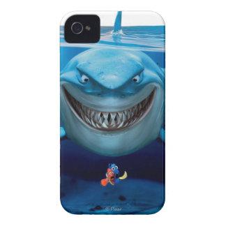 Bruce Nemo y Dory 2 iPhone 4 Carcasas