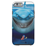 Bruce, Nemo y Dory 2 Funda De iPhone 6 Tough