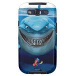 Bruce, Nemo y Dory 2 Galaxy S3 Carcasas
