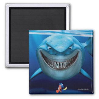 Bruce, Nemo y Dory 2 Imán Cuadrado