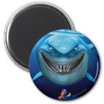 Bruce, Nemo y Dory 2 Imán Redondo 5 Cm