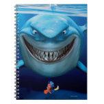 Bruce, Nemo y Dory 2 Libreta Espiral