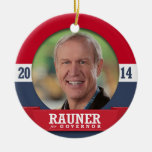 BRUCE RAUNER CAMPAIGN ORNAMENTS