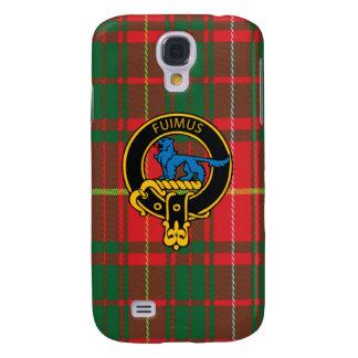 Bruce Scottish Crest and Tartan Samsung Case