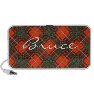 Bruce Scottish Tartan iPod Speakers