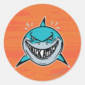 Bruce - Shark Attack Classic Round Sticker