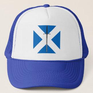 Bruce Sword on Saltire Trucker Hat