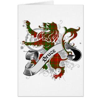 Bruce Tartan Lion Cards