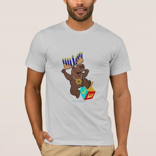 Bruce the Chanukah Moose T-Shirt