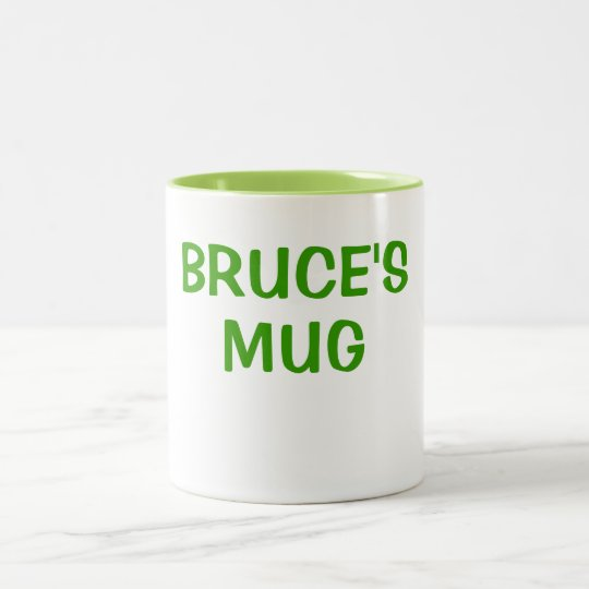 BRUCE'S MUG