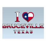Bruceville, Tejas Postales