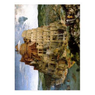 Bruegel D Torre de Babel del zu de Pieter Tur Tarjeta Postal
