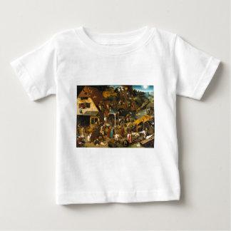 Bruegel Netherlandish Proverbs Baby T-Shirt