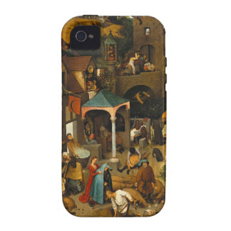 Bruegel Netherlandish Proverbs Vibe iPhone 4 Cover