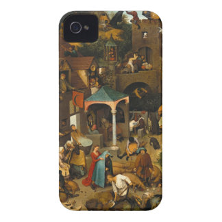 Bruegel Netherlandish Proverbs iPhone 4 Cover