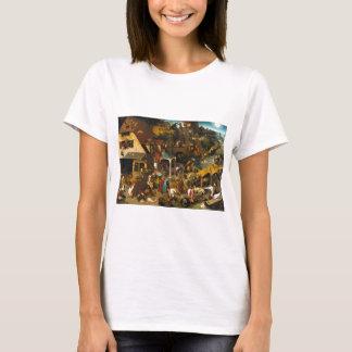 Bruegel Netherlandish Proverbs T-Shirt