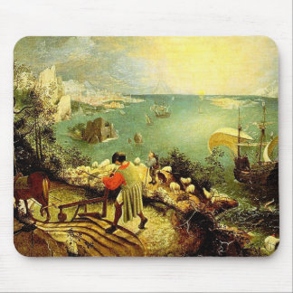 Bruegel s Landscape with the Fall of Icarus - 1558 Mousepads