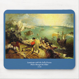 Bruegel s Landscape with the Fall of Icarus - 1558 Mouse Pad