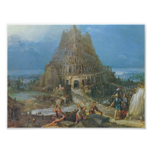 Bruegel-Torre de Pieter de Babel Poster