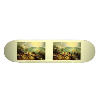 Bruegel's Landscape with the Fall of Icarus - 1558 Skateboard Deck