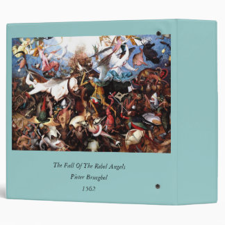 "Bruegel's ""The Fall Of The Rebel Angels"" (1562) 3 Ring Binder"