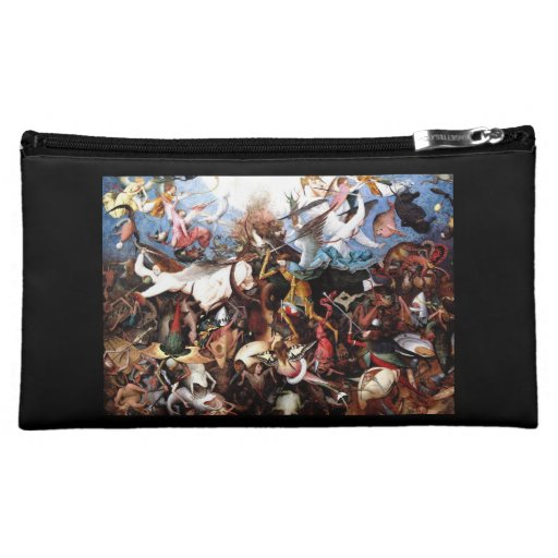 "Bruegel's ""The Fall Of The Rebel Angels"" (1562) Cosmetic Bag"