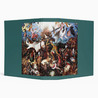 "Bruegel's ""The Fall Of The Rebel Angels"" (1562) Binder"