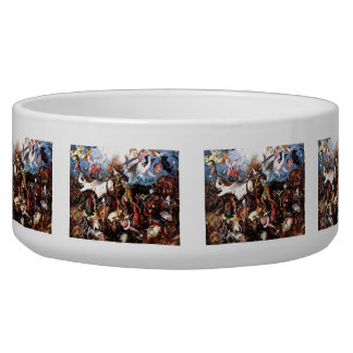 """Bruegel's """"The Fall Of The Rebel Angels"""" (1562) Bowl"""