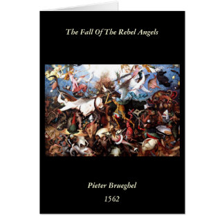 "Bruegel's ""The Fall Of The Rebel Angels"" (1562) Card"