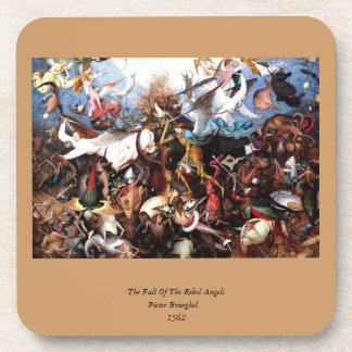 "Bruegel's ""The Fall Of The Rebel Angels"" (1562) Coaster"